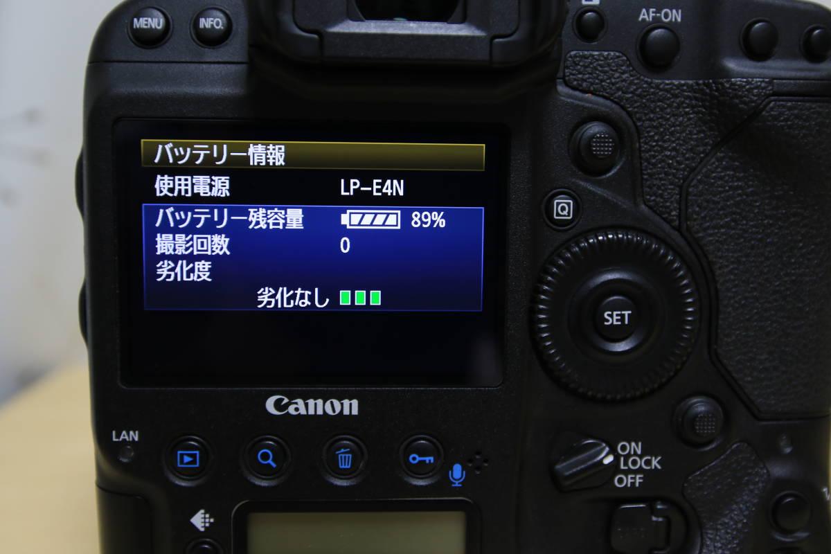 中古 キヤノン canon EOS-1DX 本体 純正バッテリー1個おまけ-日本代购网图片8链接