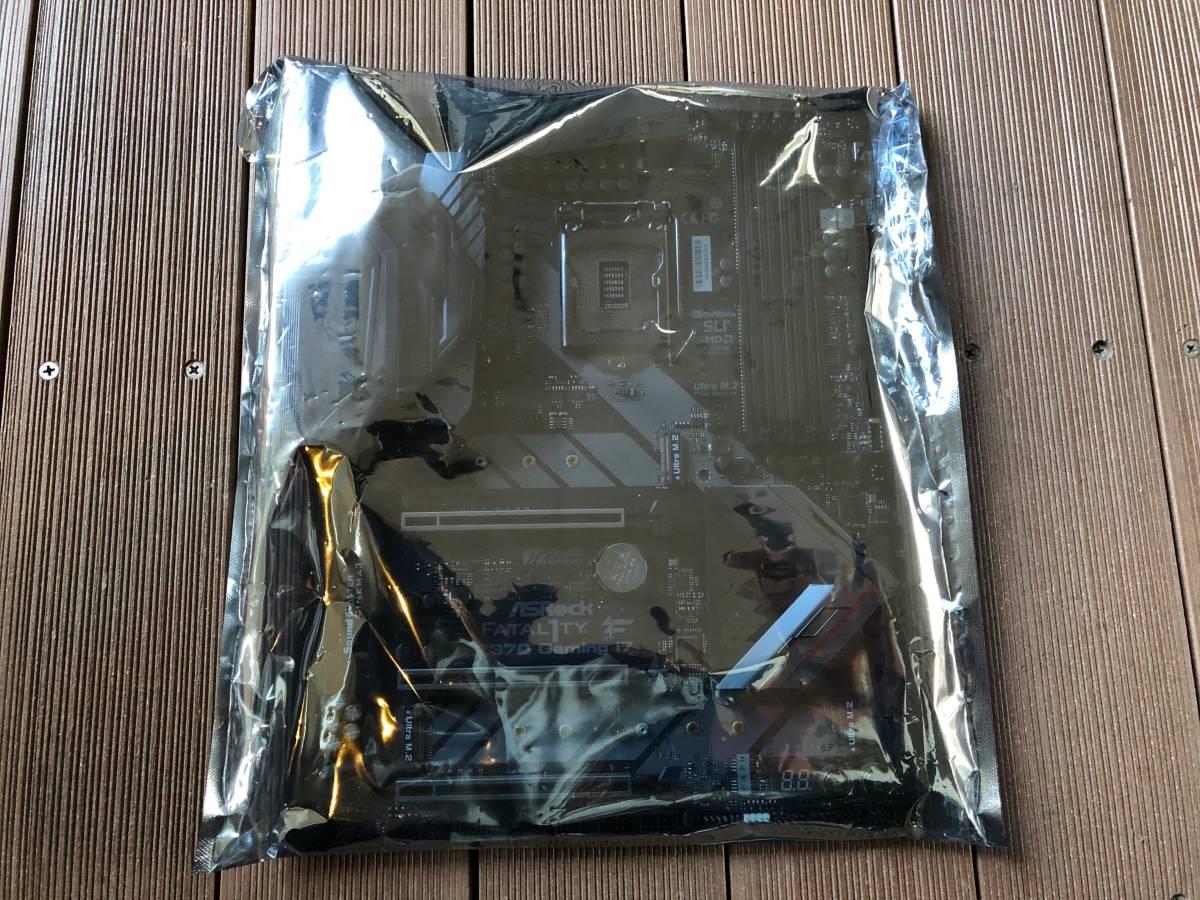 自作 PCパーツ【美品・中古】Fatal1ty Z370 Professional Gaming i7 ATX マザーボード_画像2
