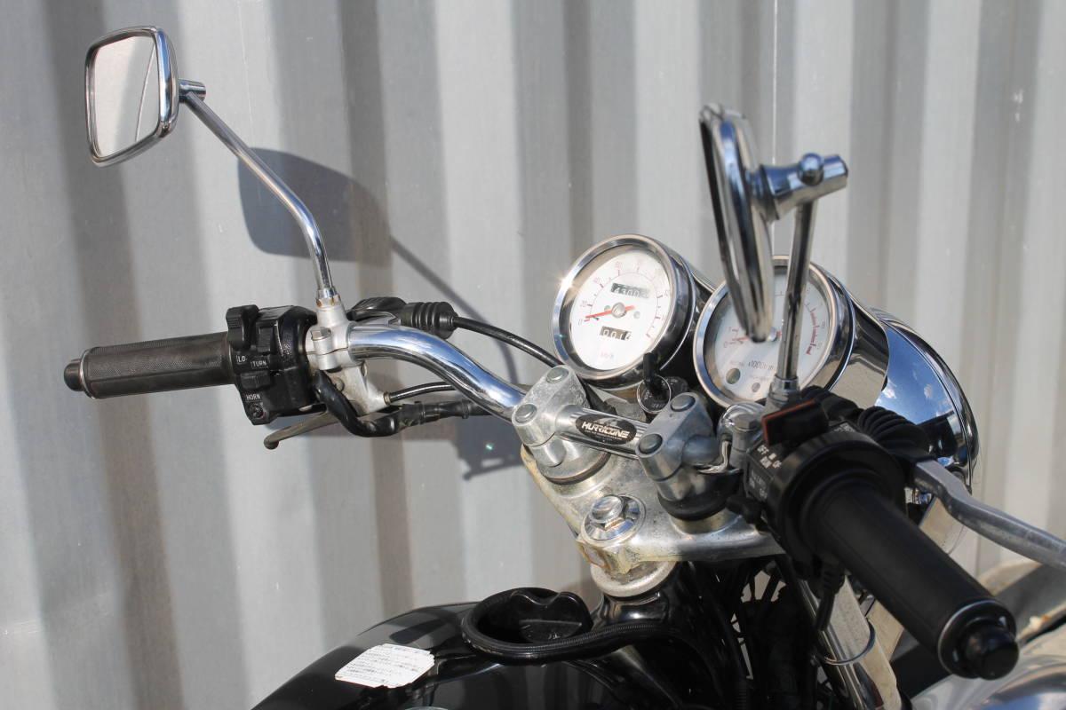 車検たっぷり SR400 H6年式 ストリート カスタム スパトラ ヤマハ 1JR ボバー 動画あり 検: TR W GB グラストラッカー ZXCV18541_画像3