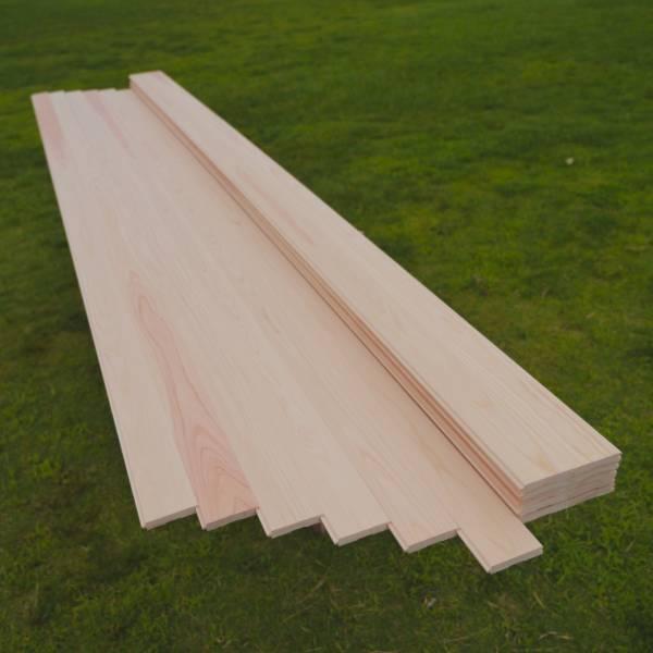 【良質 四万十檜.com】 無節・上小 フローリング 11×80×3000 DIY リホーム ひのき 檜 桧 板 床材 カンナ仕上げ 四万十ひのき 桧の香り_※安全な木表加工の上質材です