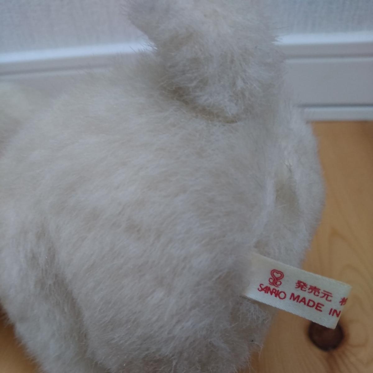 昭和 レトロ ぬいぐるみ 人形 サンリオ キャラクター 犬 イヌ 動物 当時物 検索 キキララ キティ マイメロ コレクター _画像4