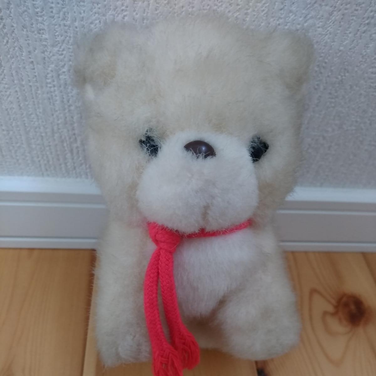 昭和 レトロ ぬいぐるみ 人形 サンリオ キャラクター 犬 イヌ 動物 当時物 検索 キキララ キティ マイメロ コレクター _画像1