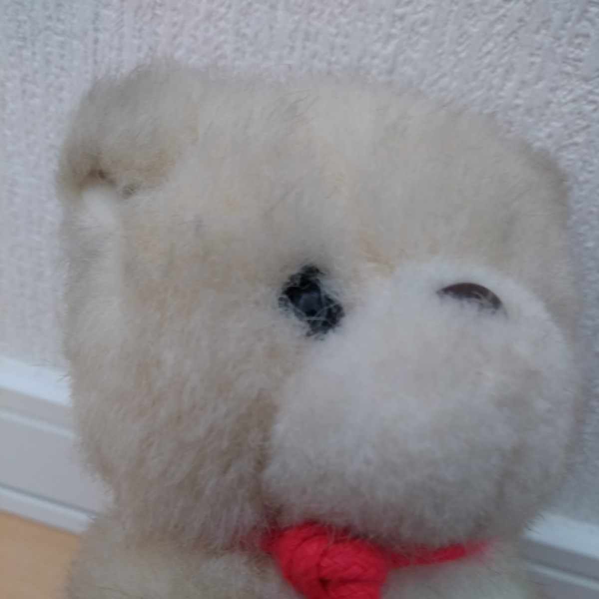 昭和 レトロ ぬいぐるみ 人形 サンリオ キャラクター 犬 イヌ 動物 当時物 検索 キキララ キティ マイメロ コレクター _画像8