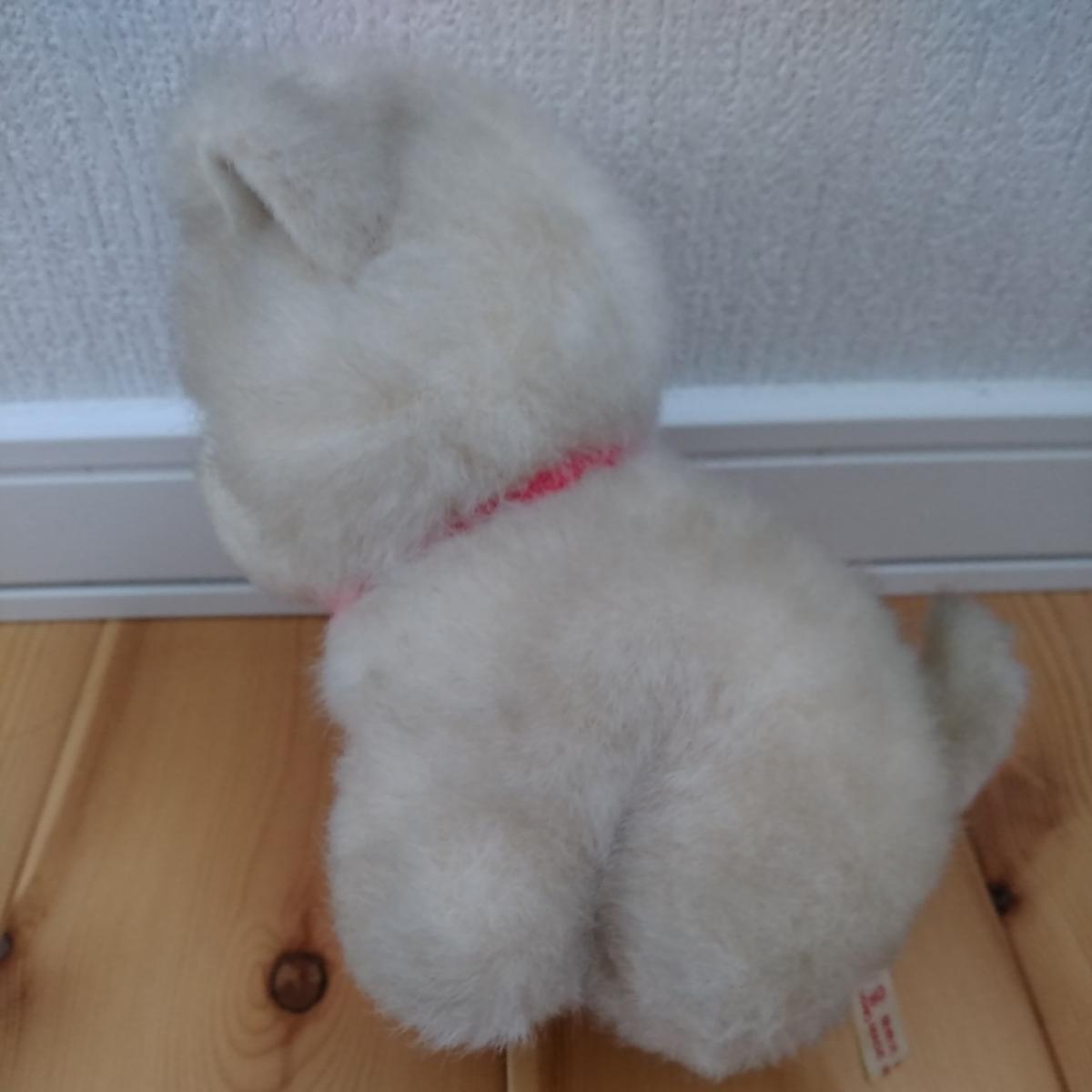 昭和 レトロ ぬいぐるみ 人形 サンリオ キャラクター 犬 イヌ 動物 当時物 検索 キキララ キティ マイメロ コレクター _画像2