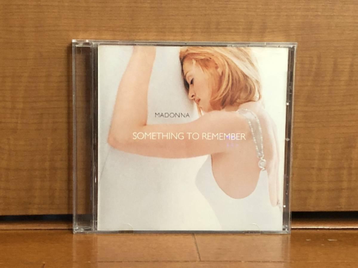 写真多数 Madonna マドンナ CD「Something To Remember」中古良品 輸入盤 _画像1