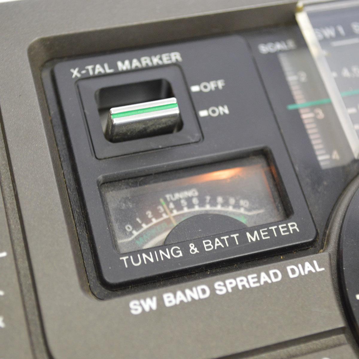 当時物 SONY ソニー ICF-5900 ラジオ スカイセンサー 5BAND バンド マルチバンド レシーバー 昭和 レトロ 東E_画像8