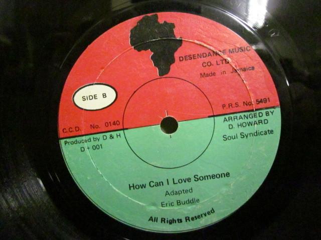 ★即決 Eric Buddle / Root of Black People - How Can I Love Someone 12 soul syndicate_画像1