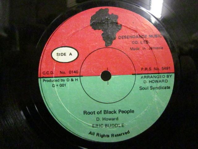 ★即決 Eric Buddle / Root of Black People - How Can I Love Someone 12 soul syndicate_画像2