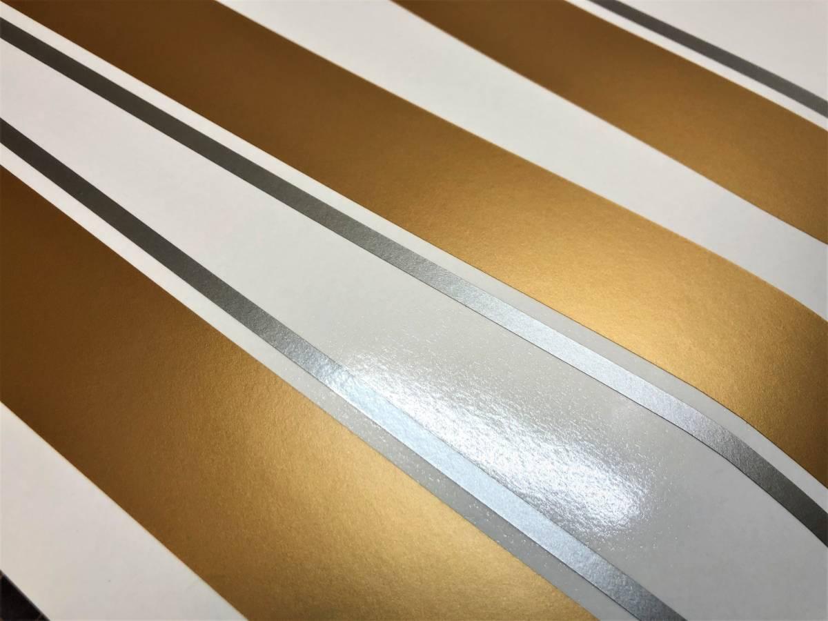 ZEPHYR ゼファー1100用 タイガーライン デカールフルセット 2色タイプ ゴールド/シルバー(金/銀)色変更可 外装ステッカー_画像2
