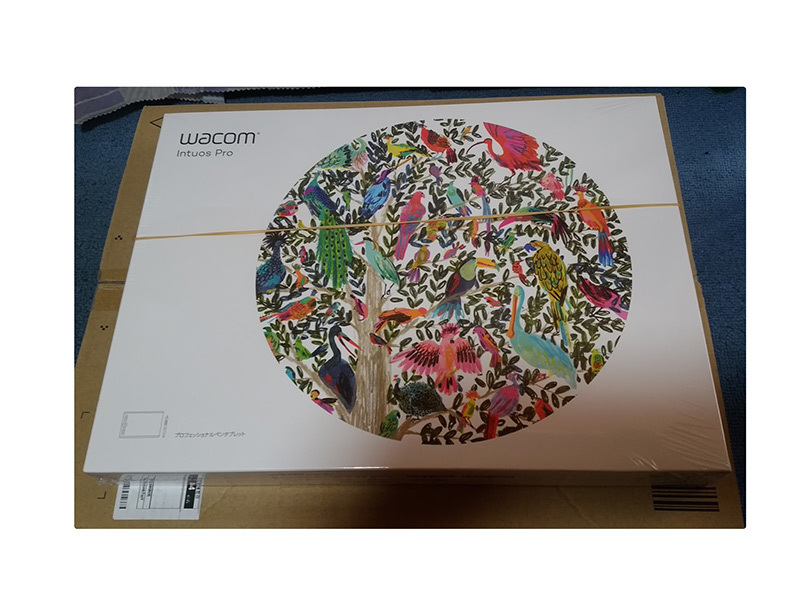 ワコム Wacom Intuos Pro Mサイズ ペンタブレット PTH-660/K0 2017年_画像2