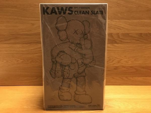 ★KAWS CLEAN SLATE 未開封品 茶★_画像1