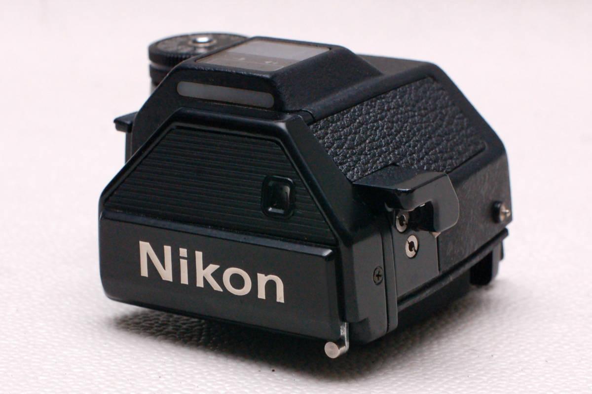 Nikon ニコン 昔の高級一眼レフカメラ F2専用フォトミックファインダー DP-2 希少品 (腐食無し)
