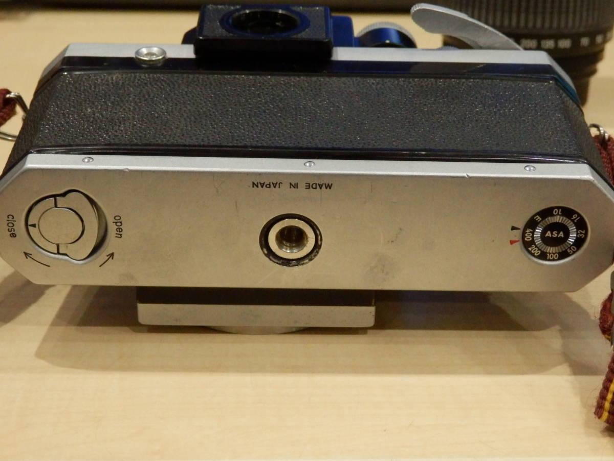 9857★Nikon ニコン フィルム一眼レフカメラ 初代F フォトミック NIKKOR-S AUTO 1:2.5 105mm+TAMRONレンズ付_画像2