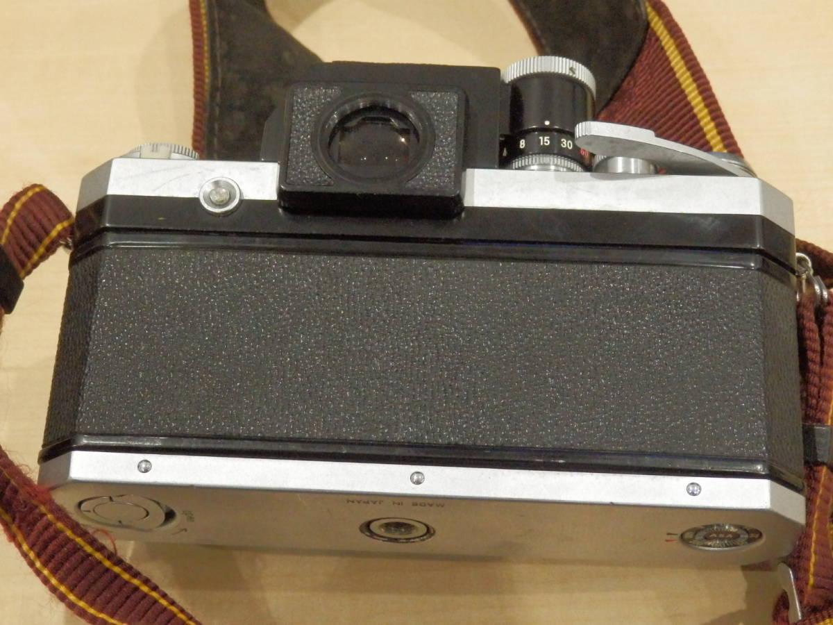 9857★Nikon ニコン フィルム一眼レフカメラ 初代F フォトミック NIKKOR-S AUTO 1:2.5 105mm+TAMRONレンズ付_画像8