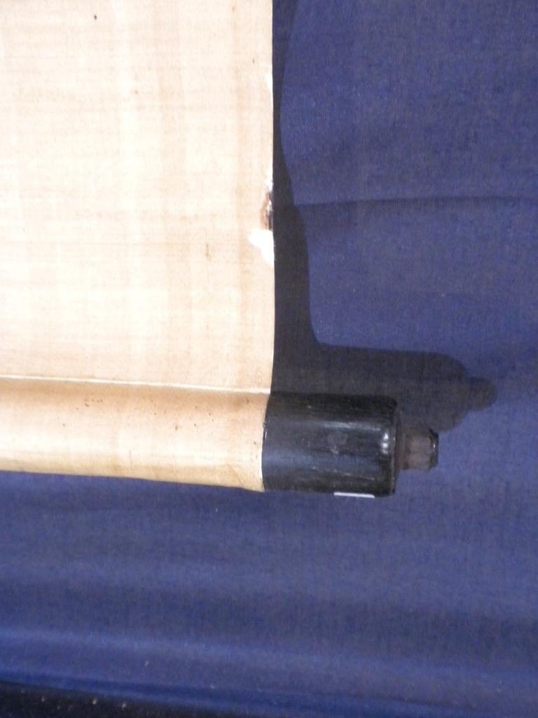 掛軸・伊藤長堅(号は蘭嵎)1694~1778年・紀伊和歌山藩儒者・江戸・真筆保証_画像10