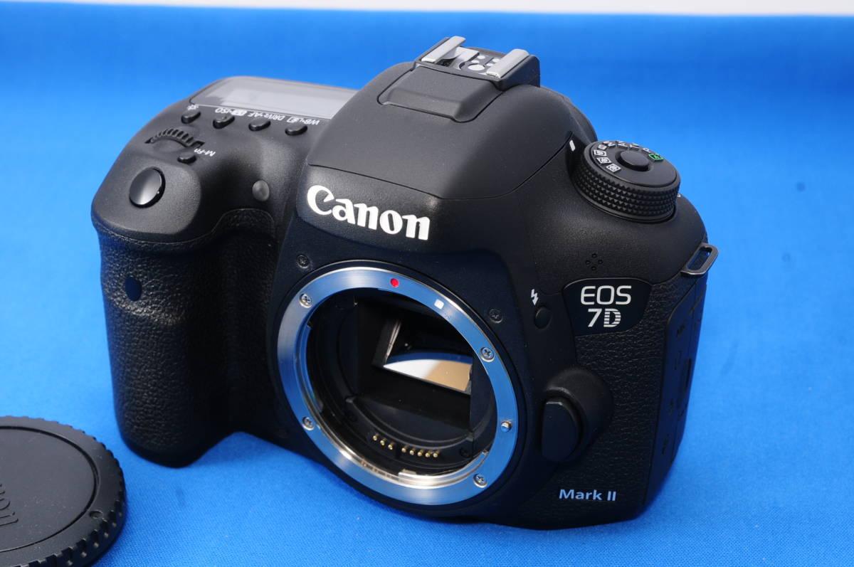 #F44L CANON EOS 7D Mark II マーク2 デジタル一眼レフカメラ キヤノン
