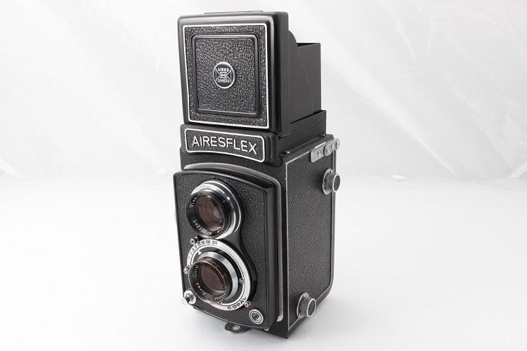 AIRESFLEX アイレスフレックス 二眼レフ 奇跡のコンディション 極上美品 クリアな光学! 元箱と本体のシリアルナンバー一致_画像2