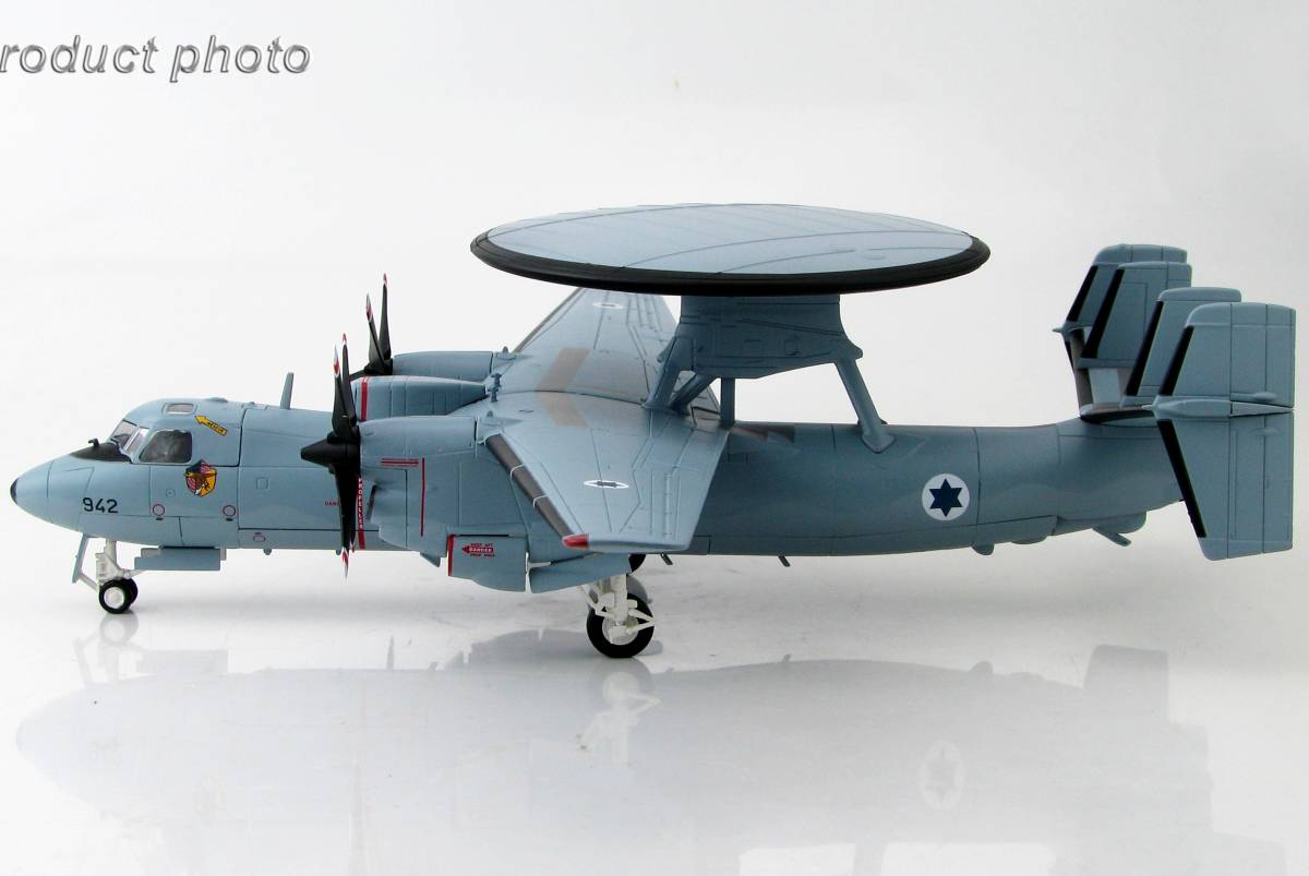 ■即決ホビーマスター 1/72【E-2Cダヤ(ホークアイ)イスラエル国防軍空軍 第92飛行隊_参考見本です