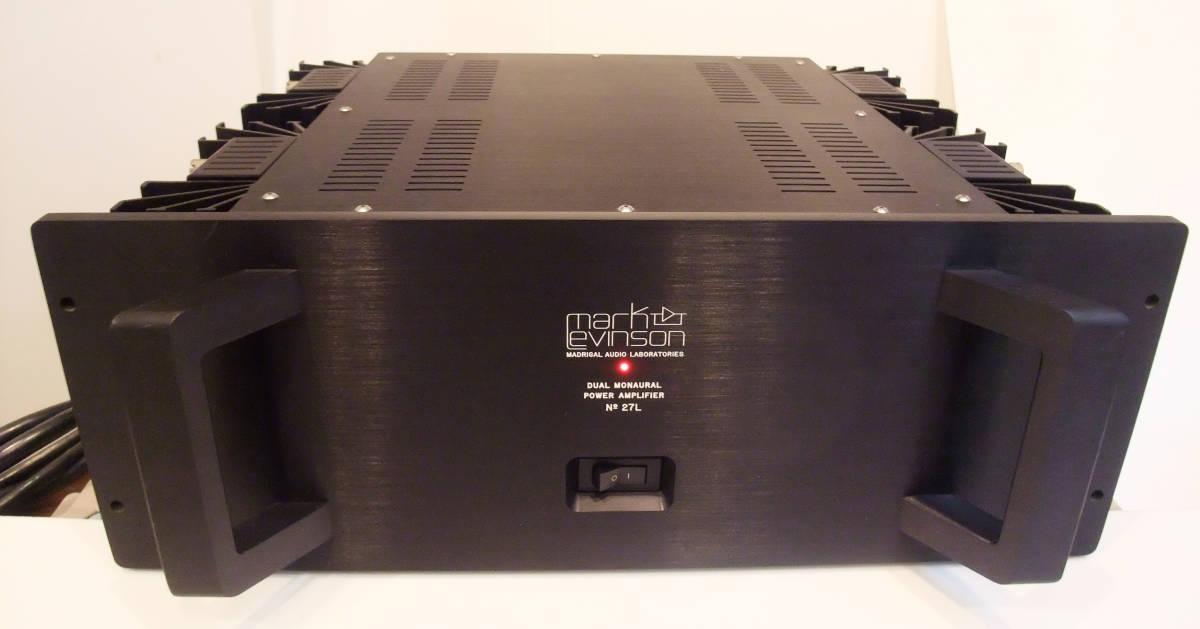 Mark Levinson Mark Levinson power amplifier No 27L,remo pin