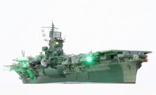 1/700 日本海軍空母 天城 フル電飾完成品 _画像2