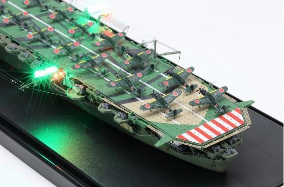 1/700 日本海軍空母 天城 フル電飾完成品 _画像3