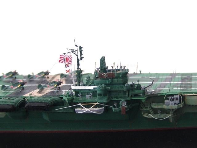 1/700 日本海軍空母 天城 フル電飾完成品 _画像5