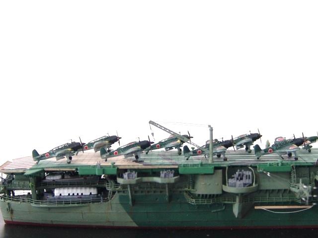 1/700 日本海軍空母 天城 フル電飾完成品 _画像7