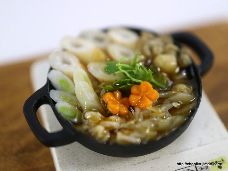 ちょび子★ミニチュア鍋料理★きりたんぽ他_画像6