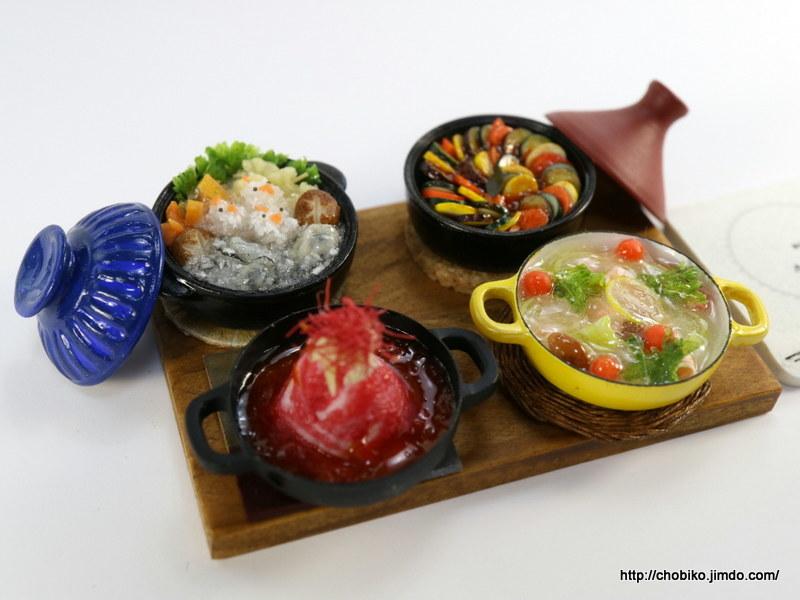 ちょび子★ミニチュア鍋料理★みぞれ鍋他_画像8