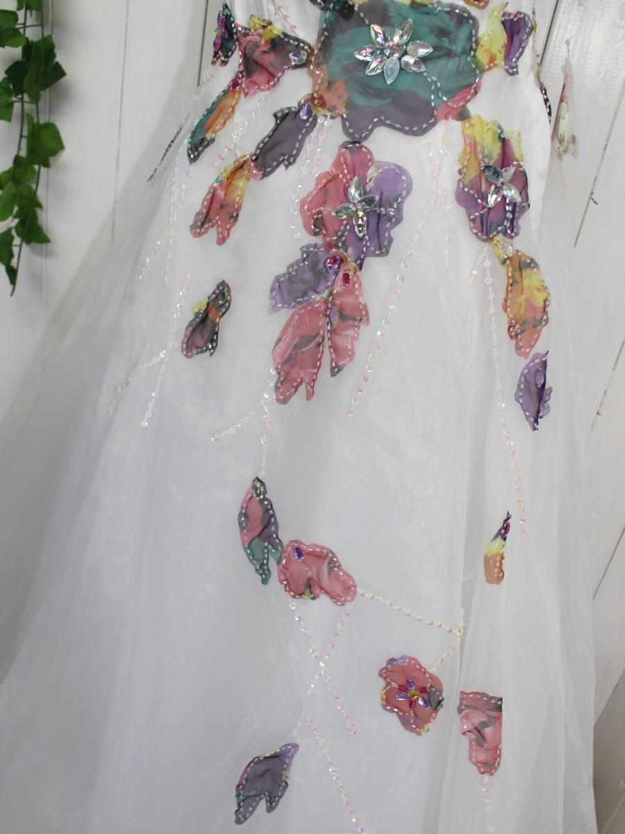*Le Grand ルグラン*豪華上質 お姫様 ロングドレスワンピース プリンセスドレス キャバドレス キャバ嬢 定価19,800円_画像3