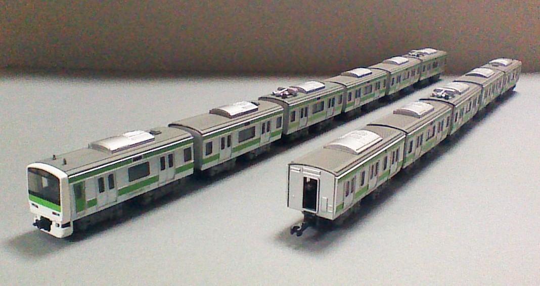 Bトレ E231系 山手線 11両編成(6ドア車組込) 組立て済(送料込み)