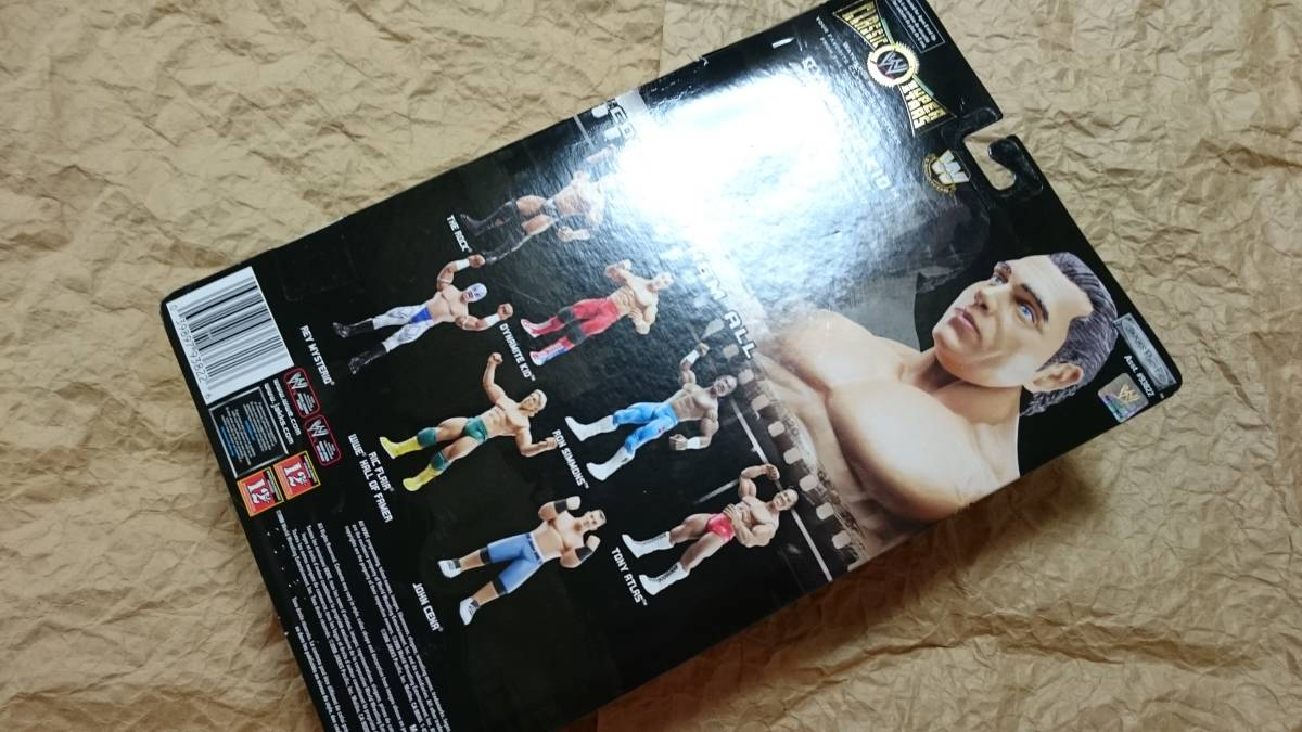 ダイナマイトキッド WWE クラシックシリーズ ジャックス社 WWF ブリティッシュブルドッグス_画像3