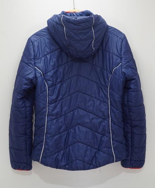 フィンランドアウトドアブランドICEPEAK 中綿スキージャケット レディス40 日本XL相当 おしゃれ北欧デザイン ネイビー_画像2