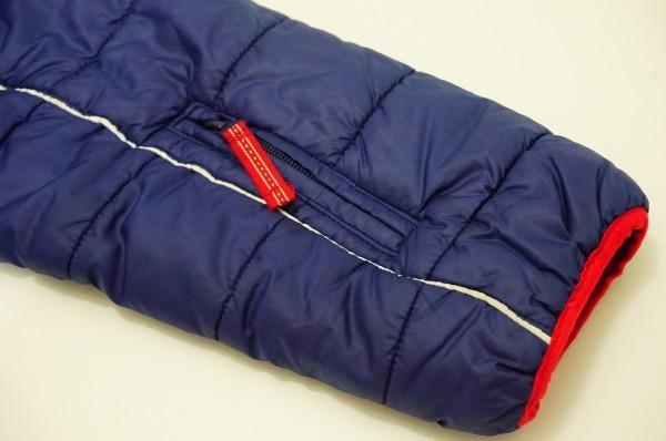 フィンランドアウトドアブランドICEPEAK 中綿スキージャケット レディス40 日本XL相当 おしゃれ北欧デザイン ネイビー_画像6
