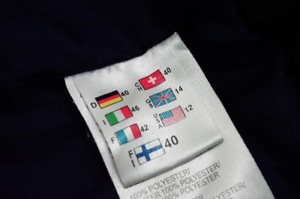 フィンランドアウトドアブランドICEPEAK 中綿スキージャケット レディス40 日本XL相当 おしゃれ北欧デザイン ネイビー_画像5