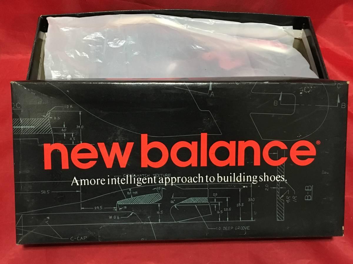 ★☆90s!希少レア!!New Balance CM321 BR 6.5 24.5cm D 黒/赤 ニューバランス NB ブラック/レッド ビンテージ デッドストック⑫☆★ _画像7