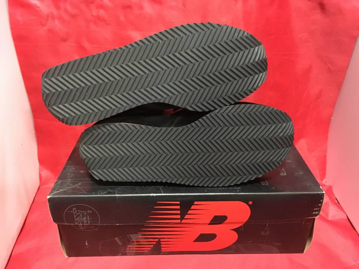 ★☆90s!希少レア!!New Balance CM321 BR 6.5 24.5cm D 黒/赤 ニューバランス NB ブラック/レッド ビンテージ デッドストック⑫☆★ _画像6