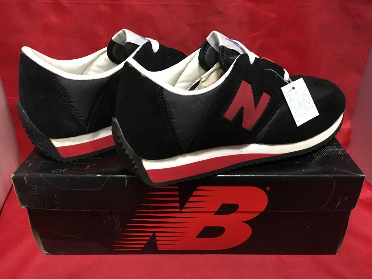 ★☆90s!希少レア!!New Balance CM321 BR 6.5 24.5cm D 黒/赤 ニューバランス NB ブラック/レッド ビンテージ デッドストック⑫☆★ _画像2