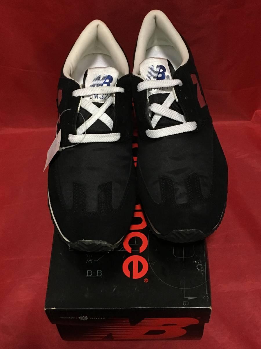 ★☆90s!希少レア!!New Balance CM321 BR 6.5 24.5cm D 黒/赤 ニューバランス NB ブラック/レッド ビンテージ デッドストック⑫☆★ _画像4