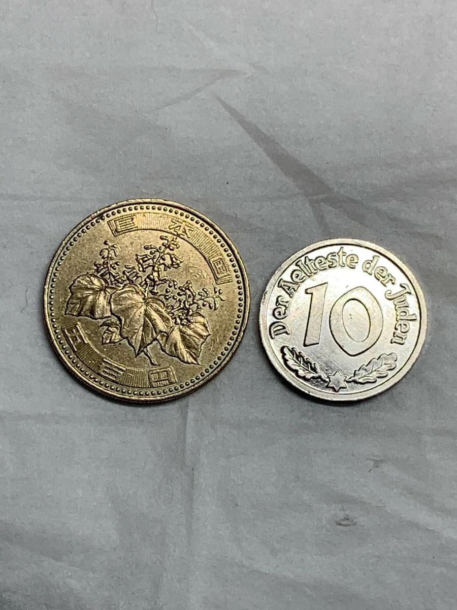 Ω1942年 ポーランド 銀貨アルミ貨古銭硬貨参考品 レア 記念 メダル コイン アンティーク コレクション 希少 骨董 海外外国 レプリカて21_画像6
