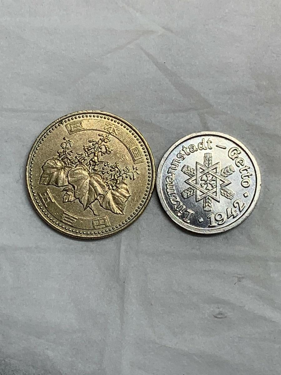 Ω1942年 ポーランド 銀貨アルミ貨古銭硬貨参考品 レア 記念 メダル コイン アンティーク コレクション 希少 骨董 海外外国 レプリカて21_画像7