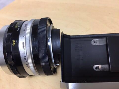 Nikon F (640Fに近い641です) NIKKOR-S 1:2 f=5cm(9枚絞り)付き_画像8