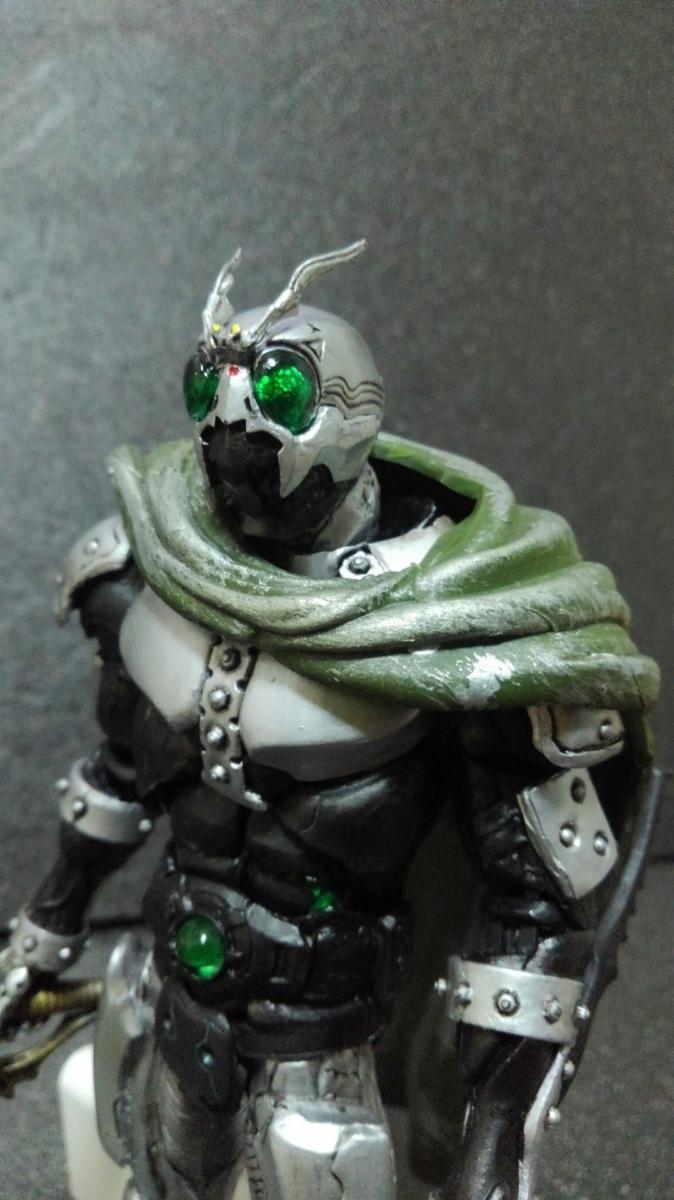 S I C sic modified shadow moon & Battle hopper custom goods Kamen