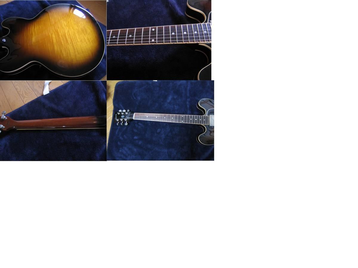 ES-335 REISSUE ラリーカールトン フュージョン BBキング モダンブルース JAZZ 定価315000円_画像2