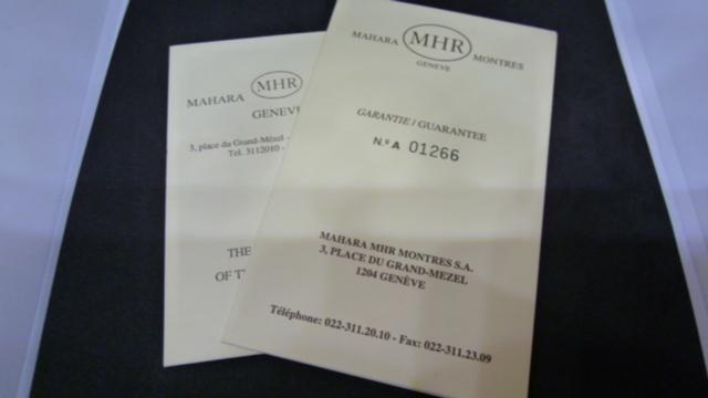 MAHARA マハラ MHR レッドデビル 自動巻 オートマチック UESD._画像8