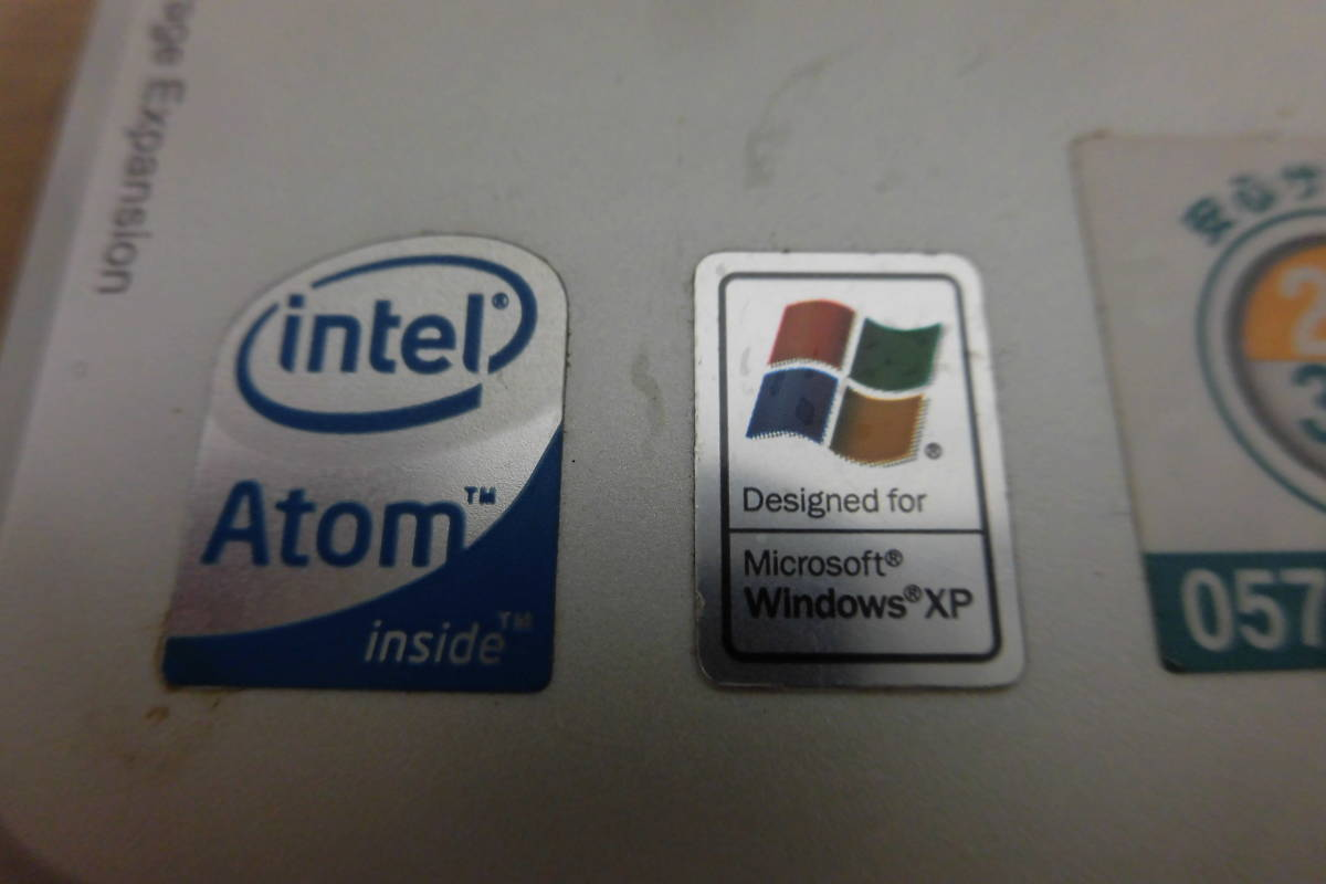 Y-1009 acer ASPIREone ZG5/WindowsXP/8インチ ノートパソコン 棚6-2 エイサー_画像4