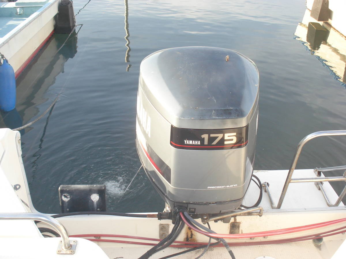 ☆☆ヤマハF24フィッシャーボート 2スト175馬力☆☆_画像9