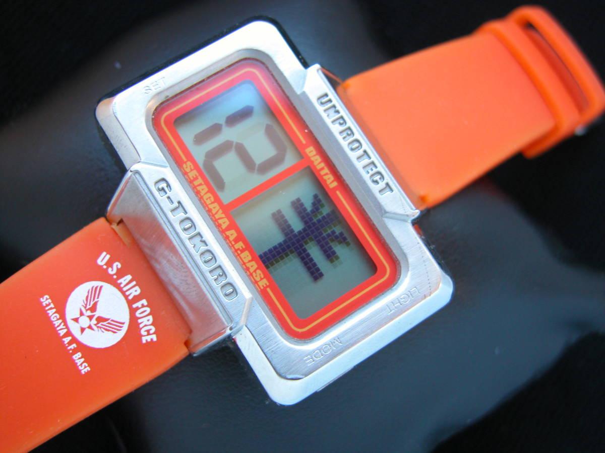 即決 本物 所さんのDAITAI時計 世田谷ベース オレンジ_画像2