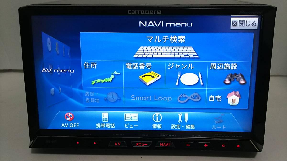 HDDサイバーナビZH07・2013年版・VGA・地デジ一式新品付属☆4×4フルセグ内臓・18倍速録音再生・DVD・USB・オービス入り・動作保証☆_画像8