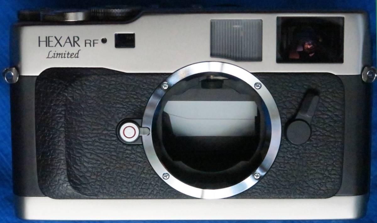 Konica Hexar コニカ ヘキサー RF Limitedミレニアム記念限定2001台限定[国内発売モデル] 未使用品 距離計連動式MマウントAEフィルムカメラ_画像3